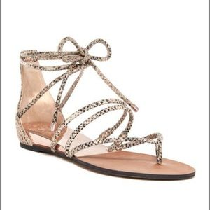 Vince Camino Adalson Gladiator sandal rose gold 9